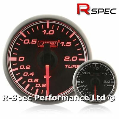45mm Stepper Motor Turbo Boost Pressure Gauge BAR - Compact / Small - Amber