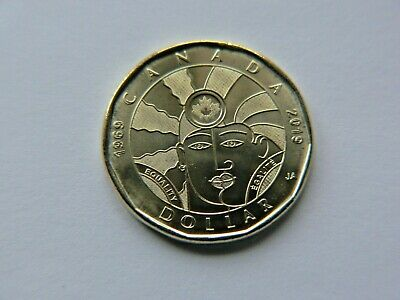 2019 $1 Dollar EQUALITY coin Canada Loonie By artist Joe Average UNC.