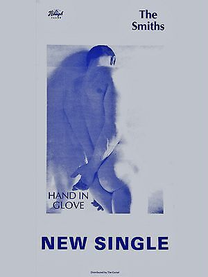 """The Smiths HAND IN GLOVE 16"""" x 12"""" Photo Repro Promo  Poster"""