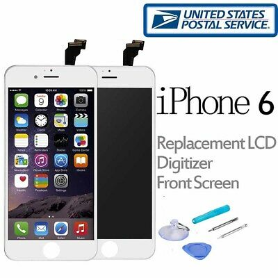 For iPhone 6 LCD Touch Screen Replacement Digitizer Display Assembly White