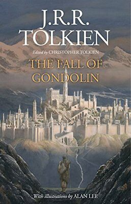 The Fall Of Gondolin di Tolkien ( Nuovo Libro con Copertina Rigida, 2018) -