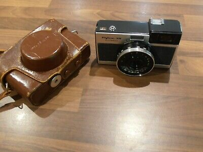 Vintage Fujica 35 Automagic slr camera & case