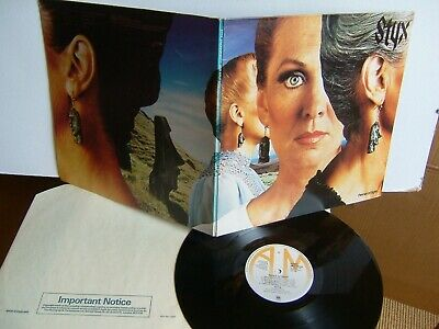 Styx - Pieces Of Eight  AMLH 64724  UK LP A2/B2  1978 A&M   EX+
