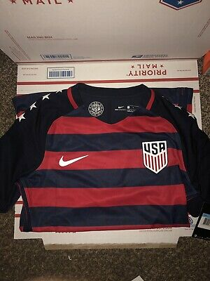 49e51a2cb NIKE USA National Team USMNT 2017 Gold Cup Player Issued Authentic  884987-410