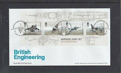 GB 2019 British Engineering MS Royal Mail First Day Cover High Wycombe spec pmk