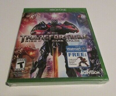 Transformers: Rise of the Dark Spark (Microsoft Xbox One, 2014) New Walmart Excl
