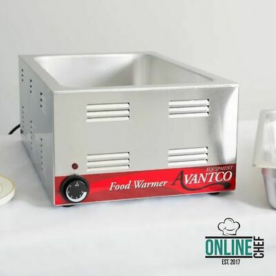 "Avantco 12"" X 20"" Commercial Electric Food Warmer Countertop Restaurant Cooking"
