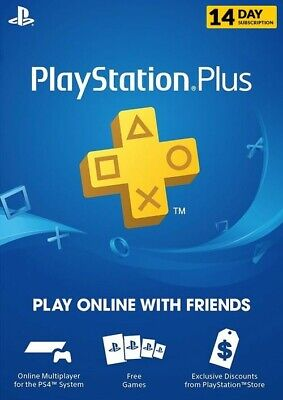 Sony PlayStation Plus  14 day Subscription Membership code
