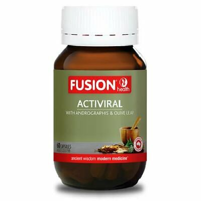 Fusion Health ActiViral 60 Capsules