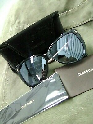 dcc5a0a825353 Brand New Authentic Tom Ford Sunglasses FT TF 0512 TF512 01C Reveka Frame