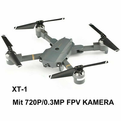 25 Mins Flying Foldable RC Drone KY601S 2.4Ghz 4CH 6-Axis Wifi FPV HD Camera US