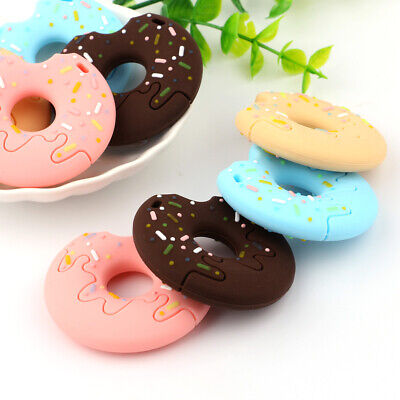 Silicone Teether Baby Teething Training Pacifier Child Chewing Toy Biscuits