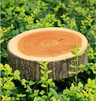 Natural Wooden Log Soft Strong Home Cushion Neck Pillow Wood Tree DP