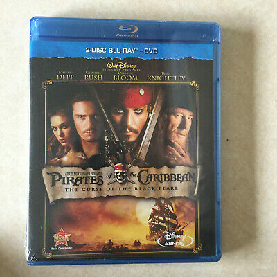 Pirates of the Caribbean Blu-Ray + DVD New