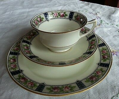 Early + rare Antique Aynsley Trio c1890s a2942. Cup Saucer Plate
