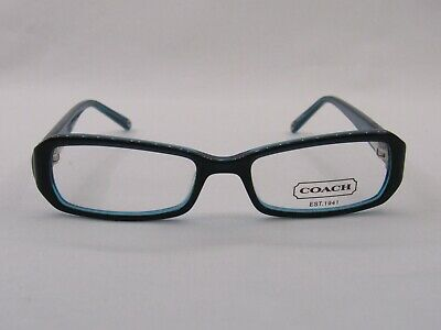 82248111a93a Coach Kitty 2016 Navy 48 x 16 135 mm Eyeglass Frame with Case and Cleaning  Cloth