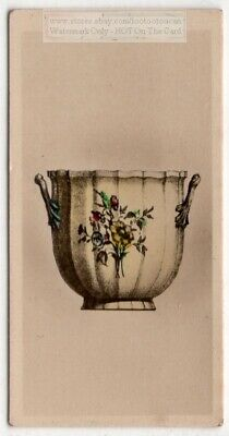 Antique 1735 Oise French Glass Bowl 1920s Ad Trade Card