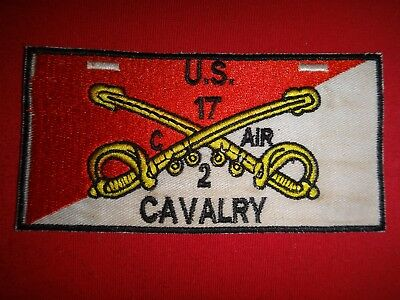 Vietnam War Patch US Army C Troop 2nd Squadron 17th Air Cavalry Regiment