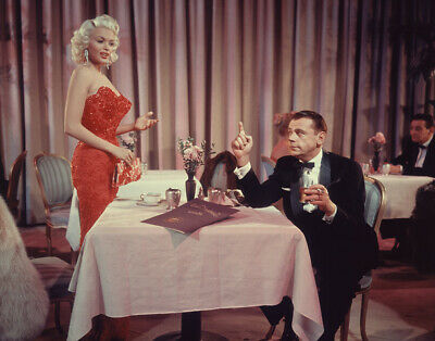 Jayne Mansfield Tom Ewell The Girl Can't Help It 1956 Production Transparency