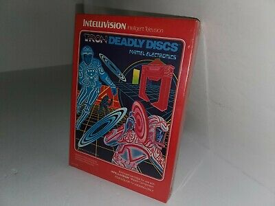 New Gatefold Tron Deadly Discs Factory Sealed For Intellivision Console C6