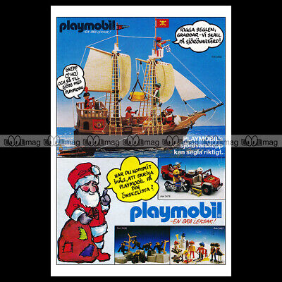 #phpb.001605 Photo PLAYMOBIL VINTAGE CLASSIC A4 Advert Reprint