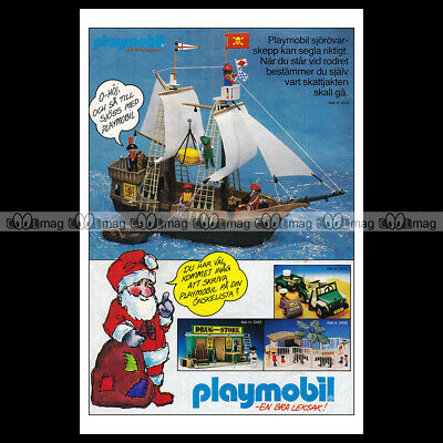 #phpb.001614 Photo PLAYMOBIL VINTAGE CLASSIC A4 Advert Reprint