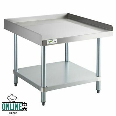 """30"""" x 30"""" Stainless Steel Table Commercial Mixer Grill Heavy Equipment Stand"""