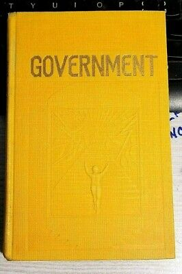 WATCHTOWER BOOK GOVERNMENT 1928 Rutherford Jehovah RAINBOW IBSA