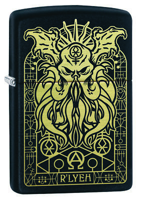 ZIPPO Monster Design Great for Outdoors Windproof Lighter new in Box 29965