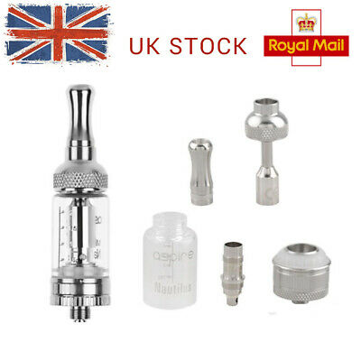ASPIRE Kit BVC Hole NAUTILUS Air with Coils UK Adjustable Coil & Tank 5ML