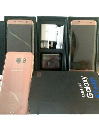 Brand New Samsung Galaxy S7 Edge G935F Rose Gold - 32GB Unlocked - 6M Warranty