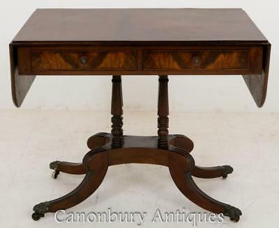Regency Side Table - Mahogany Sofa Tables circa 1800