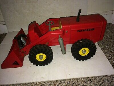 Vintage 50s/60s Pressed Steel Nylint Ny-Lint Hough Payloader,Complete,Excellent