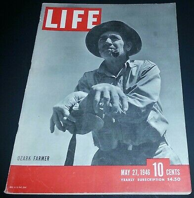 May 27, 1946 LIFE Magazine Old 40s Coke advertising ad + FREE SHIPPING 5 26 28