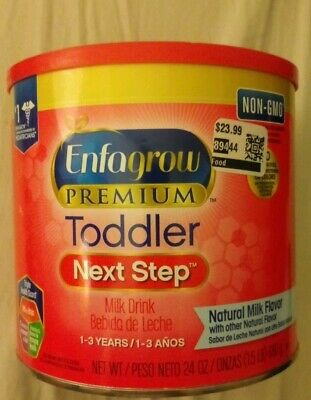 Enfagrow Premium Toddler Next Step Milk Drink 24 oz 1-3 Years expired 4-1-2019