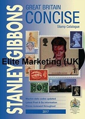 2017 Great Britain Concise Stamp Catalog, Stanley Gibbons, 978191...