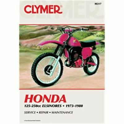 Clymer Dirt Bike Manual - Honda 125-250cc Elsinores - HON CR125M 1975 - 1978;