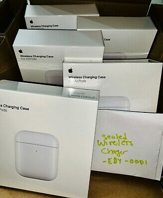 NEW Apple AirPods 2nd Generation Wireless Charging Case (ONLY) - White SEALED