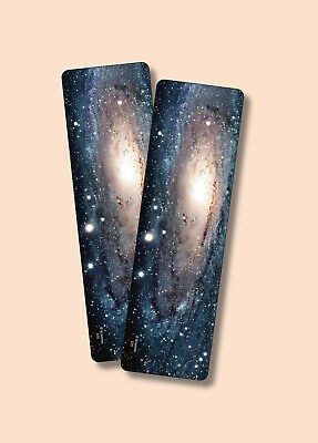 """""""Andromeda"""" - Galaxy or Space Themed Image On - 2 Bookmarks - sku# VBM370"""
