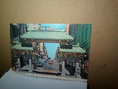 CHINATOWN GATEWAY San Francisco Calif  SANDOR BALATONI Clemcards MIKE ROBERTS