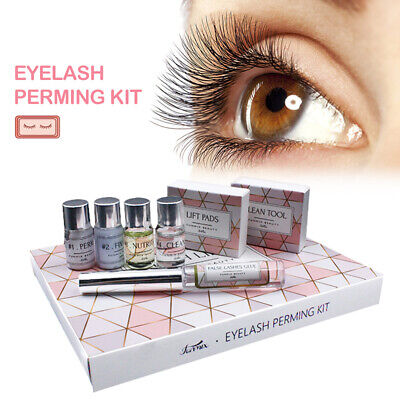 Eyelash Perming Kit Lash Lifting Curling Set Pad Cilia Lift Perm Rod Glue Beauty