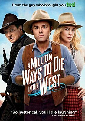 A Million Ways to Die in the West DVD Seth MacFarlane Comedy ADD-ON TOP SELLING