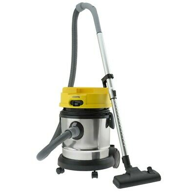 Pro 3 in 1 Wet Dry Vacuum 1400watt 676 oz Stainless Steel Container Hkoenig