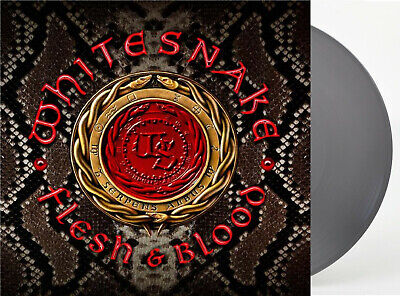 Whitesnake ‎– Flesh & Blood (Limited Silver Coloured 2LP Vinyl, new & sealed)