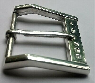 """Art Deco Style Solid Sterling Silver Hallmarked Belt Buckle''The Soho"""""""