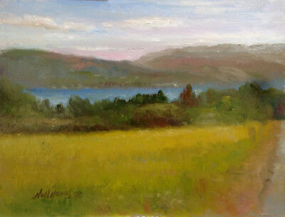 Ring of Kerry Ireland   9x12 in.  Oil on stretched panel  HALL GROAT II