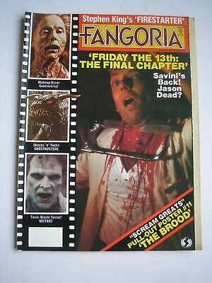 FANGORIA #36 magazine July 1984