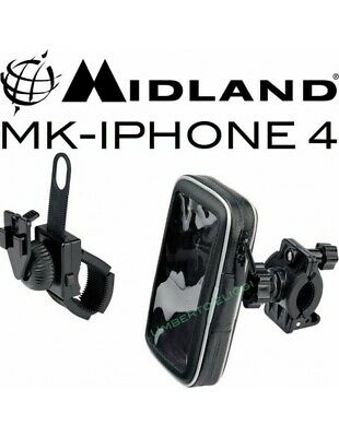 XIT MK-iPhone4 Supporto per moto scooter dedicato Apple Iphone 4 4S