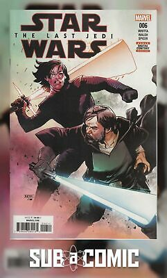 STAR WARS LAST JEDI ADAPTATION #6 (MARVEL 2018 1st Print) COMIC