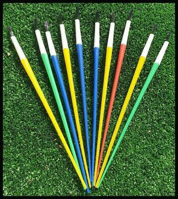 10 Kids Paint Brushes Brush Craft Art Paintbrushes Childrens Painting Creative A